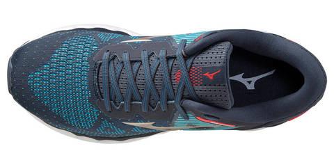 Mizuno Wave Horizon 5 кроссовки для бега мужские синие