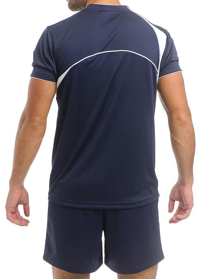 Asics Set End Man форма волейбольная мужская темно-синяя - 2