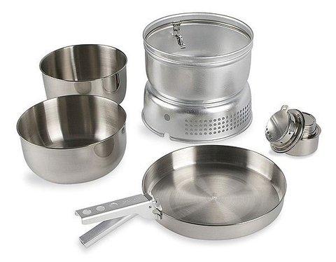 Tatonka Multi Set + Alcogol Burner набор туристической посуды