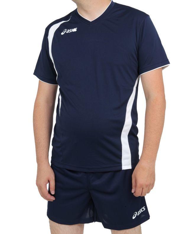 Asics Set End Man форма волейбольная мужская темно-синяя - 3