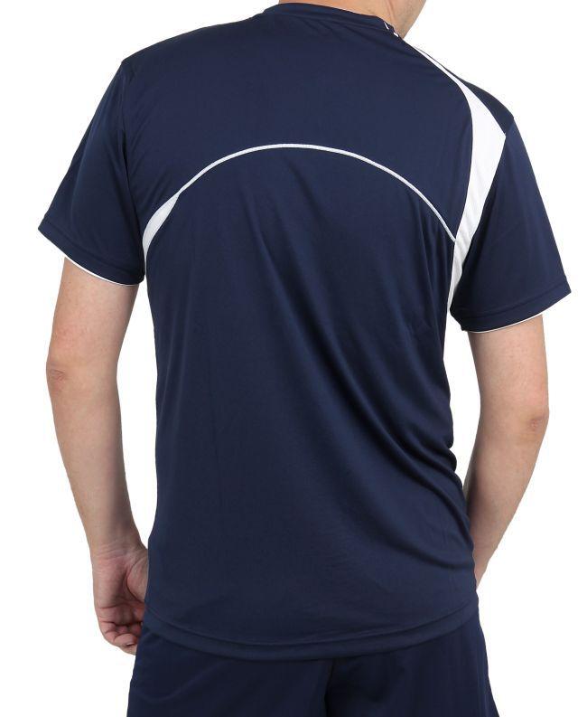 Asics Set End Man форма волейбольная мужская темно-синяя - 4