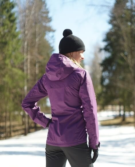 Nordski Motion женская ветрозащитная куртка purple - 2