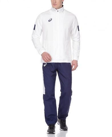 Спортивный костюм мужской Asics Man Lined Suit белый-синий