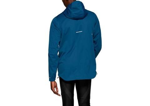 Asics Accelerate Jacket куртка для бега мужская темно-синяя