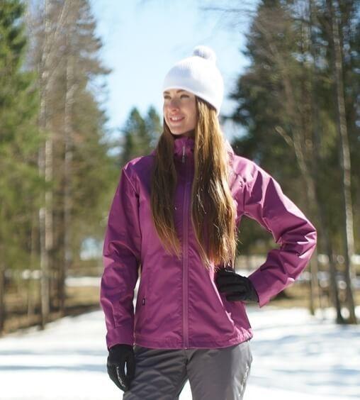 Nordski Motion женская ветрозащитная куртка iris - 1