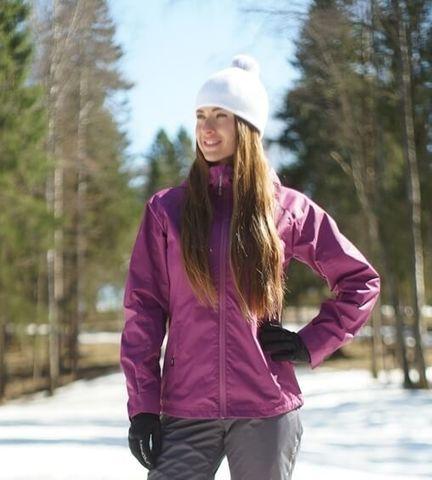 Nordski Motion женская ветрозащитная куртка iris
