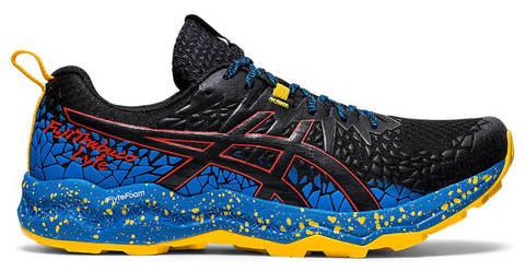 Asics Fujitrabuco Lyte кроссовки внедорожники мужские черные-синие