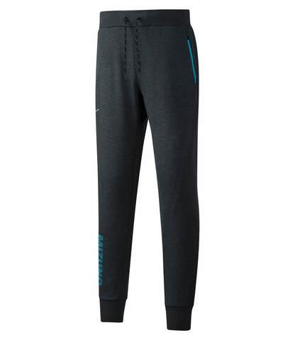 Mizuno Heritage Rib Pants брюки для бега мужские черные