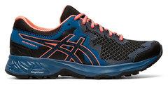 Asics Gel Sonoma 4 кроссовки для бега женские синие-черные