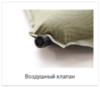 Alexika Family Wide самонадувающийся коврик olive - 4