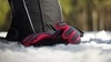 Nordski Jr Arctic Membrane детские перчатки black/raspberry - 2