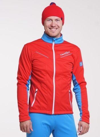 Nordski National 2020 мужская лыжная куртка красная