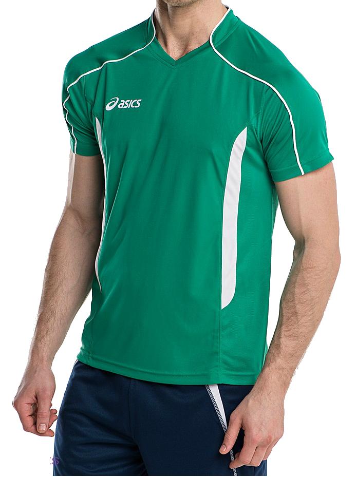 Волейбольная футболка Asics T-shirt Volo мужская greeen - 2