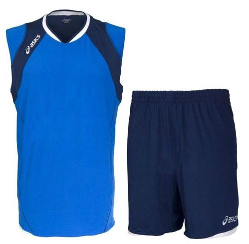 Волейбольная форма Asics Set Volley Smu синяя