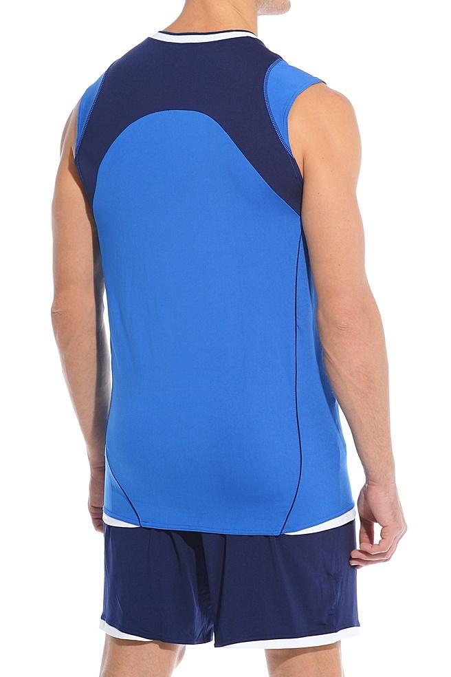 Волейбольная форма Asics Set Volley Smu синяя - 3