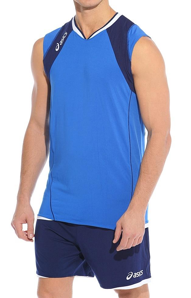 Волейбольная форма Asics Set Volley Smu синяя - 2