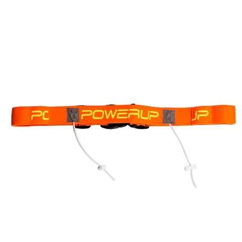 PowerUp пояс для номера и гелей orange