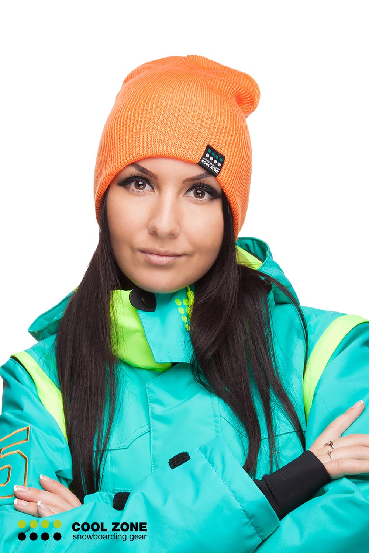 Шапка к горнолыжной куртке фото
