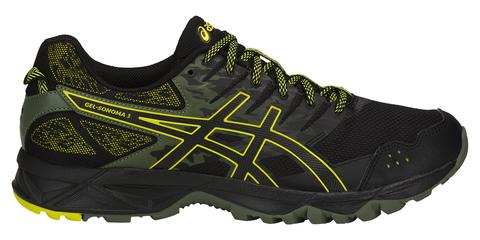 Asics Gel Sonoma 3 кроссовки внедорожники мужские черные