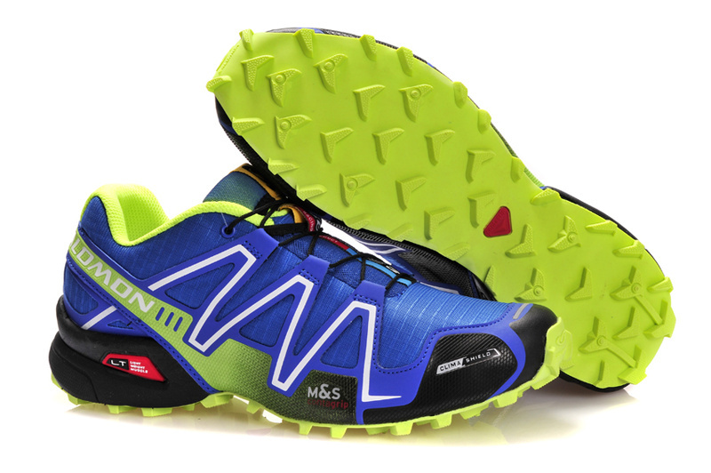 Кроссовки Salomon Speedcross 3 blue lime