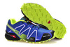Кроссовки Salomon Speedcross 3 blue lime - 1