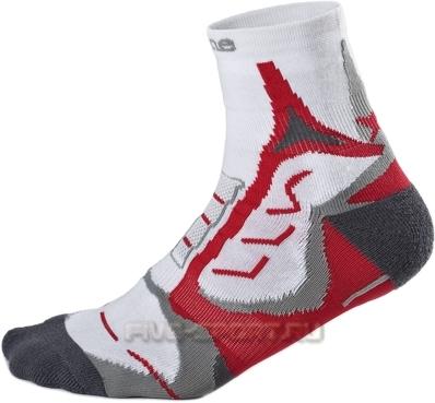 Носки Noname Coolmax 2 пары white-red - 2