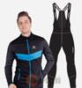 Лыжный утепленный костюм мужской Nordski Base Active black-blue - 1