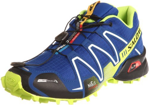 Кроссовки Salomon Speedcross 3 blue lime - 2