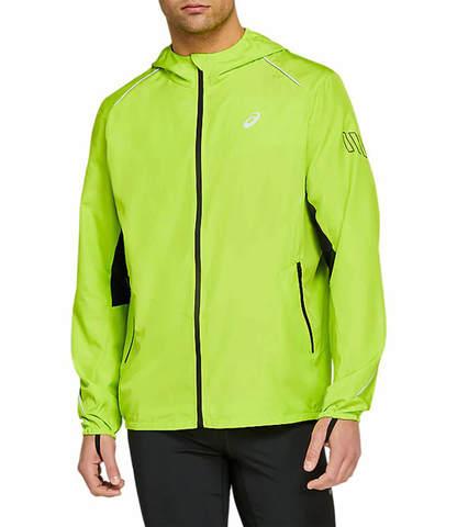 Asics Lite Show Jacket ветрозащитная куртка мужская лайм