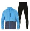 Asics Packable Stripe мужской костюм для бега синий-черный - 1