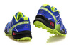 Кроссовки Salomon Speedcross 3 blue lime - 3