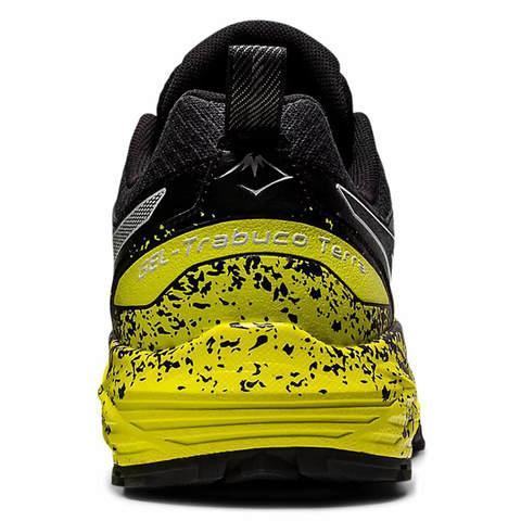 Asics Gel Trabuco Terra кроссовки для бега мужские черные-желтые (Распродажа)