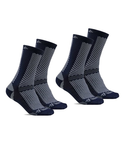 Craft Warm XC Mid комплект носков blue-grey