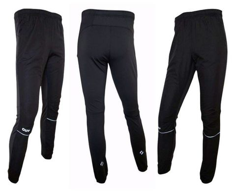Olly брюки для бега черные