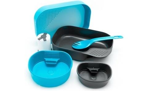 Wildo Camp-A-Box Complete набор туристической посуды light blue
