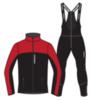 Nordski Active лыжный костюм женский красный-черный - 4
