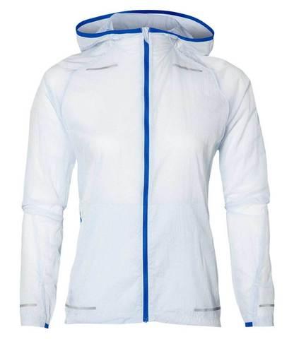 Asics Lite-Show куртка ветрозащитная женская белая