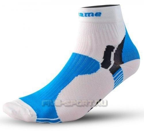 Носки Noname Multi бело-синие