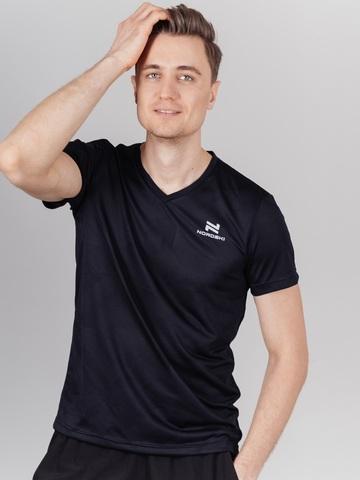 Nordski Ornament футболка спортивная мужская black