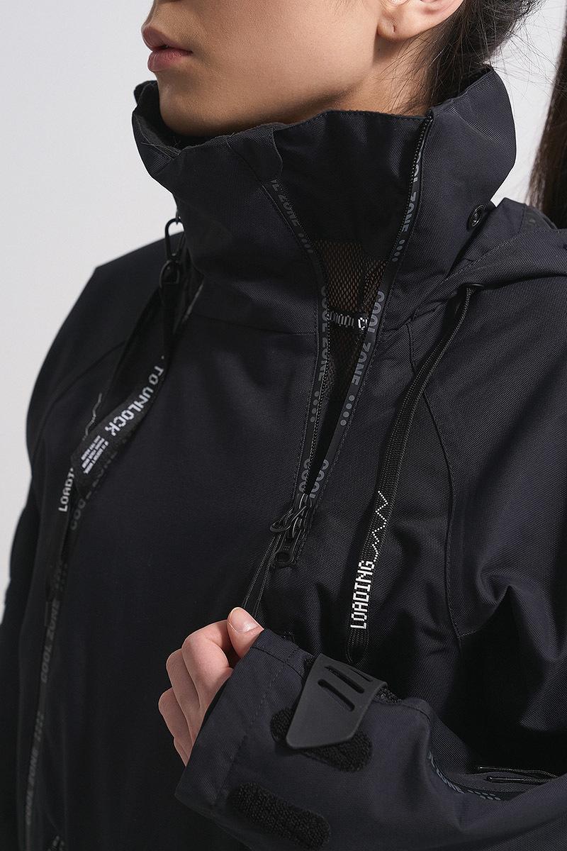 Cool Zone CRUSH комбинезон женский горнолыжный черный - 8