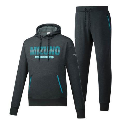 Mizuno Heritage спортивный костюм мужской dark grey