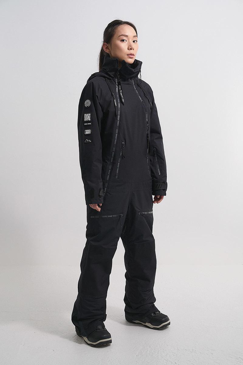 Cool Zone CRUSH комбинезон женский горнолыжный черный - 6