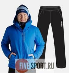 Nordski Montana прогулочный костюм мужской синий