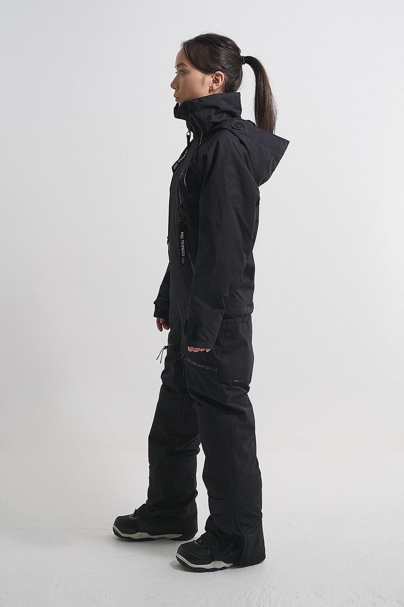 Cool Zone CRUSH комбинезон женский горнолыжный черный - 3
