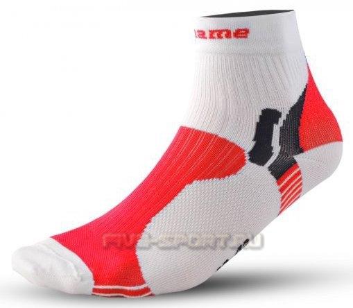 Носки Noname Multi, бело красные