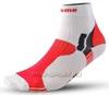 Носки Noname Multi, бело красные - 1