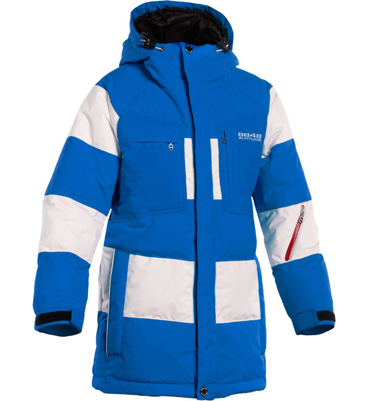 Детская куртка-пуховик 8848 Altitude Akagi Blue