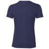 Asics Silver Ss Top футболка для бега мужская тёмно-синяя - 2