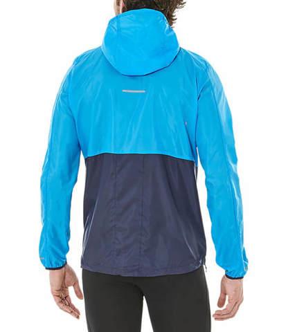 Asics Packable Stripe мужской костюм для бега синий-черный