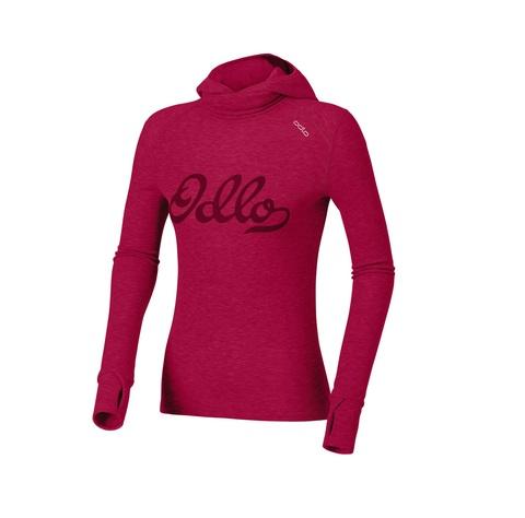 Odlo Warm Trend женское термобелье рубашка с маской розовое